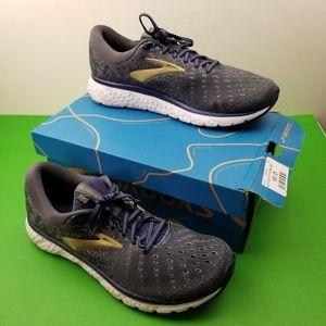 Brooks Men's Glycerin 17 Grey/Navy/Gold Running Sh